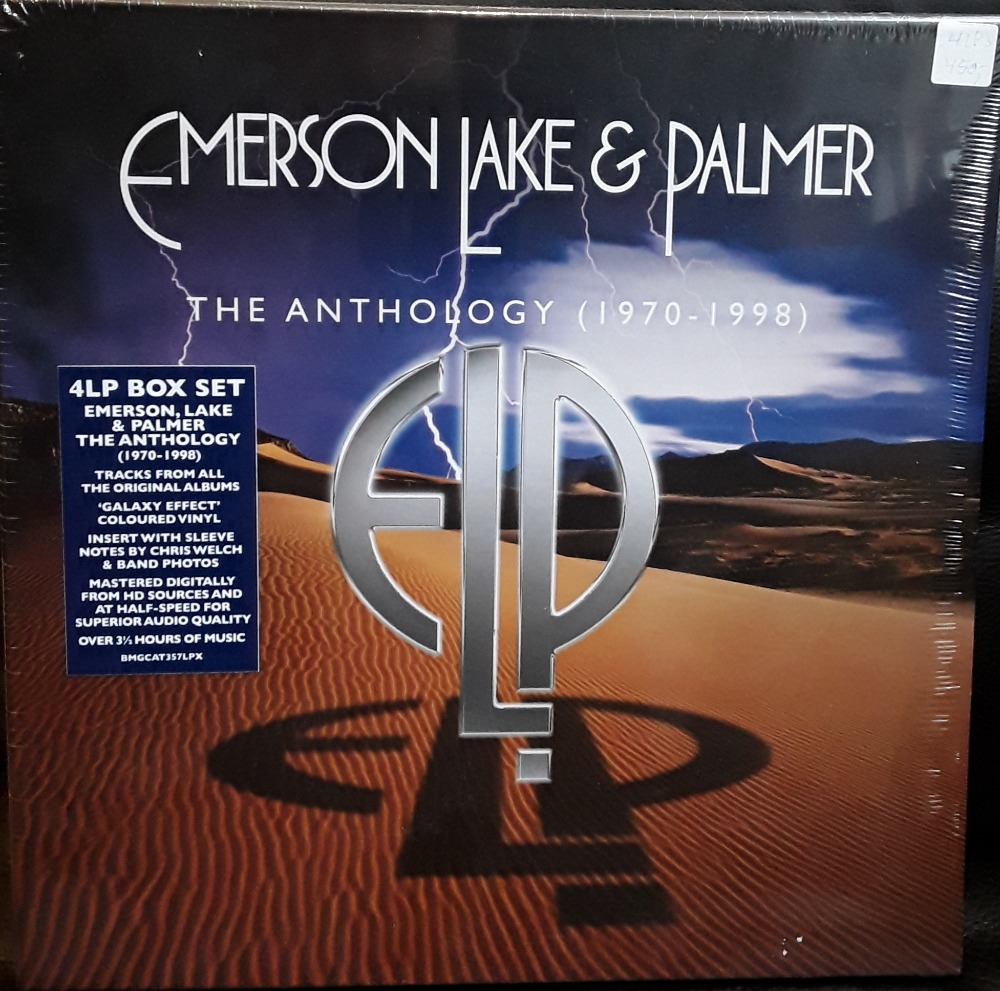 Emerson Lake & Palmer: The Anthology (1970- 1998) 4 LP'er