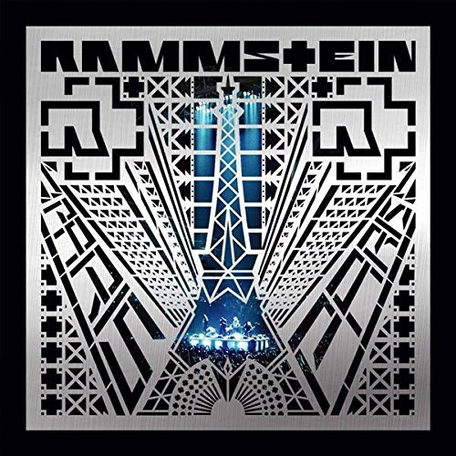 Rammstein Box: Paris (4 LP-blå vinyl)
